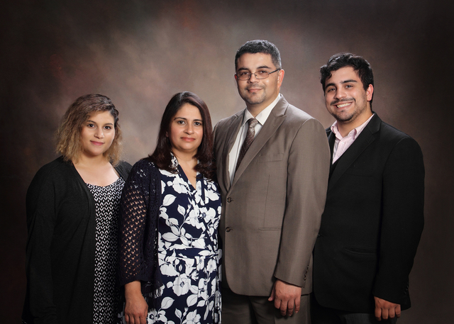 Pastor Mercado and Family
