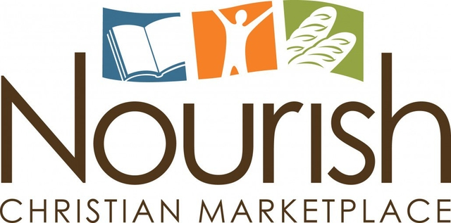 Nourish Christian Marketplace Store Logo